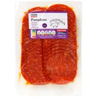 Chorizo Pamplona extra EROSKI basic, sobre 200 g