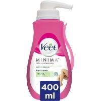Crema depilatoria piel normal VEET, dosificador 400 ml
