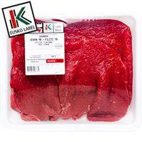 Filete de vaca 1a. EUSKAL OKELA, bandeja aprox. 400 g