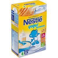 Papilla de 8 cereales-yogur desde 6º mes NESTLÉ, caja 600 g