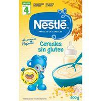 Papilla de cereales s. gluten desde el 4º mes NESTLÉ, caja 600 g