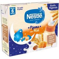 Papilla líquida de 8 cereales con miel NESTLÉ, pack 2x250 ml