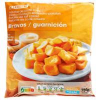 Patatas bravas EROSKI, bolsa 750 g