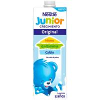 Leche de crecimiento junior 2+ NESTLE, brik 1 litro