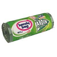 Bolsa de basura jardín 100 l. HANDY BAG, paquete 10 unid.