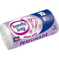Bolsa de basura baño perf. 10 l. HANDY BAG, paquete 15 unid.