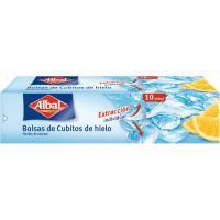 Bolsa para cubitos de hielo ALBAL, caja 10 unid.