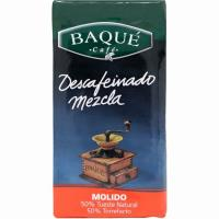 Café molido descafeinado mezcla BAQUÉ, paquete 250 g