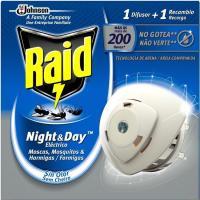 Insecticida RAID Night&Day, aparato + recambio