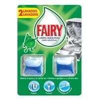 Limpia máquina lavavajillas FAIRY, pack 2 dosis