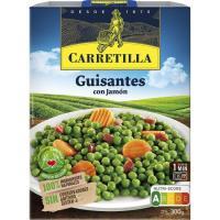 Guisantes CARRETILLA, bandeja 300 g
