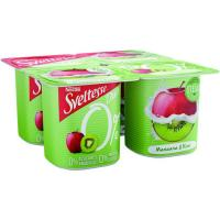 Yogur Sveltesse duo manzana/kiwi NESTLE, pack-4x125g