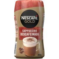 Café Cappuccino descafeinado NESCAFÉ, bote 250 g