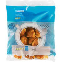 Mini croissant EROSKI, paquete 300 g
