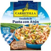 Ensalada de pasta con atún CARRETILLA, bol 240 g