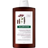 Champú de quinina+vitamina B KLORANE, bote 400 ml