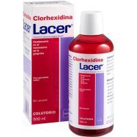 Colutorio Clorhexidina LACER, botella 500 ml