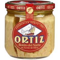 Bonito del Norte en aceite de oliva ORTIZ, frasco 270 g