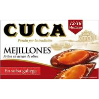 Mejillón en salsa gallega CUCA, lata 115 g