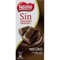 Chocolate negro sin azúcar NESTLÉ, tableta 125 g