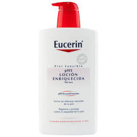 Loción enriquecida EUCERIN, dosificador 1000 ml